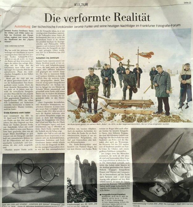 Frankfurter Neue Presse 27. 1. 2018